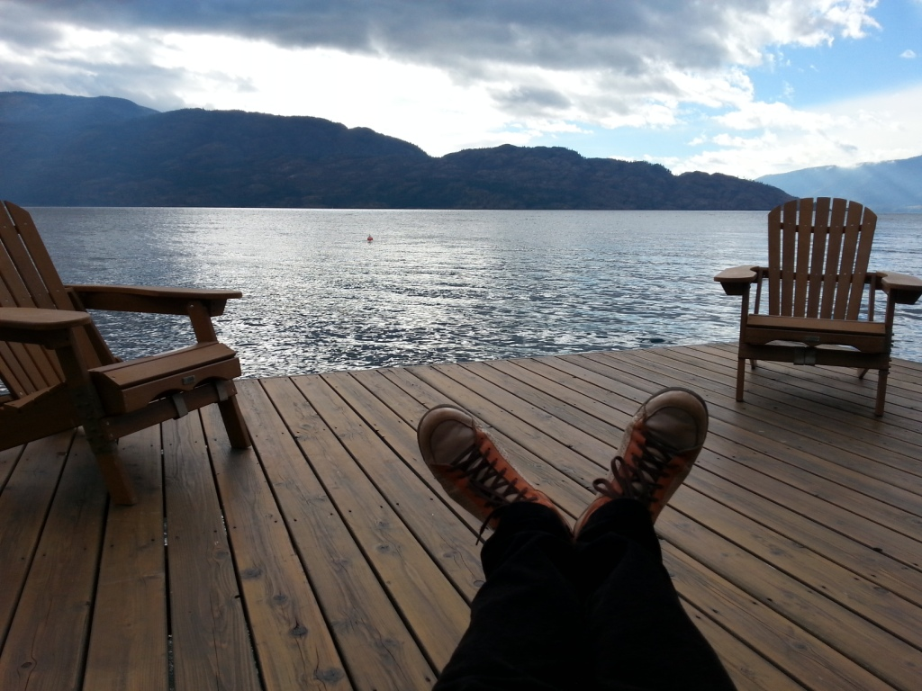 Okanagan Lake, Peachland, Canada   2015